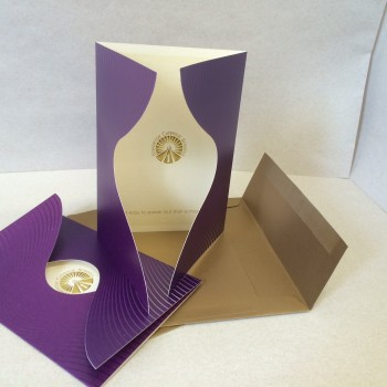 Purple Gold Cards